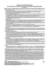 Allgemeine Geschäftsbedingungen mit individuellem Eindruck der Haftungssumme 1 Mio EUR