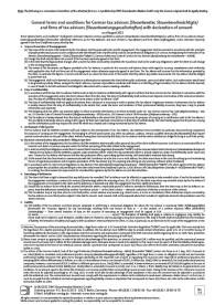 Allgemeine Geschäftsbedingungen für Steuerberater, Steuerbevollmächtigte und Steuerberatungsgesellschaften mit Zustimmungserklärung in Englisch