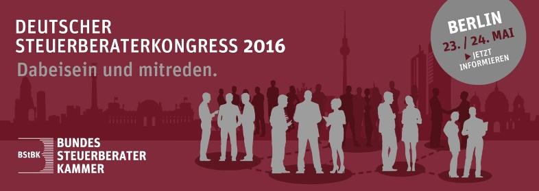 Deutscher Steuerberaterkongress 2016